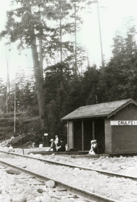 Ambleside >> Pacific Great Eastern Railway Company >> Caulfeild Area ... Pacific Railway Company